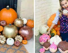 Calabazas de Halloween de los famosos