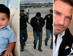 'Baby Nick', redadas ICE y Julián Gil con su hijo Matías