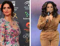 Penélope Cruz y Oprah Winfrey