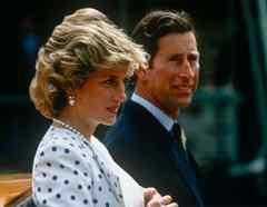 Príncipe Charles y Diana 1985