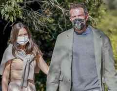 Ben Affleck y Ana de Armas Thanksgiving