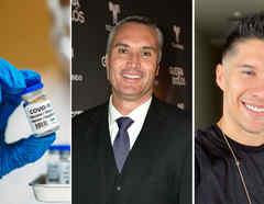 Vacuna contra el COVID-19, Edgardo del Villar y Chyno Miranda