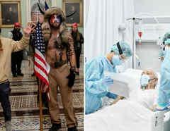 Yellowstone Wolf y hospital COVID-19