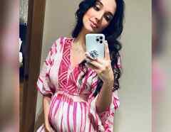 Amelia Vega embarazada