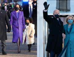 Kama Harris y Joe Biden moda