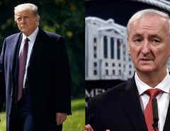 Doanad Trump y jeffrey rosen
