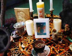 Altar de brujería