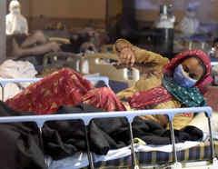 La segunda ola de COVID-19 causa estragos en India