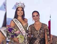 Lupita Jones y Andrea Meza