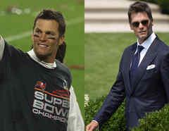 Tom Brady, estilos de vestir.