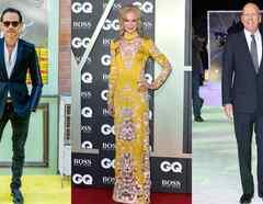 Marc Anthony, Nicole Kidman, Bruce Willis