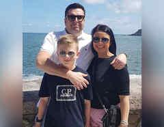 Zoe Williams y su familia