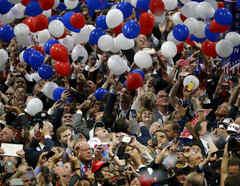 Fotografía de archivo de la Convención Nacional Republicana de 2016 en Cleveland