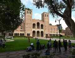 Estudiantes de la Universidad de California en Los Ángeles