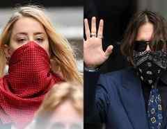 Johnny Depp niega violencia durante su matrimonio con Amber Heard