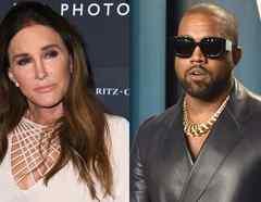 Caitlyn Jenner, Kanye West