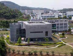 Instituto de Virología de Wuhan en una imagen de archivo.