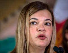 Bárbara Lagoa, jueza de apelaciones del undécimo circuito de EE.UU. y posible nominación de Trump para la vacante de la Corte Suprema.