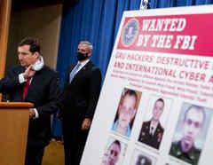 Anuncian cargos contra seis militares o exmilitares rusos por hackeo