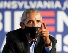 El expresidente Barack Obama hace campaña a favor del exvicepresidente Joe Biden