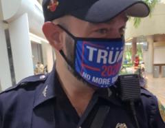 El agente de la policía de Miami identificado como Daniel Ubeda.