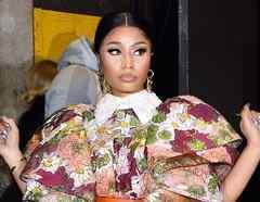 Nicki Minaj en Manhattan 2020