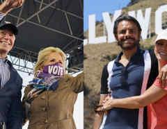 Eugenio Derbez y Alessandra Rosaldo conversaron con Jill Biden