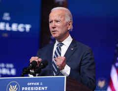 El presidente electo Joe Biden se pronuncia sobre Obamacare