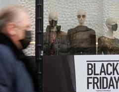 Una tienda con ventas del Black Friday, o viernes negro, el 25 de noviembre de 2020.