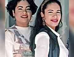 Suzette y Selena Quintanilla
