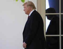 La Casa Blanca ha quedado casi vacía en la última semana, luego de que un grupo de manifestantes a favor de Trump irrumpieran violentamente el Congreso.