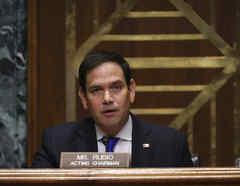 El senador republicano por Florida Marco Rubio