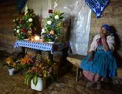 Natalia Tomás Agustín espera la pronta repatriación de los restos de su hijo Iván Gudiel Pablo Tomás, en Comitancillo, Guatemala.