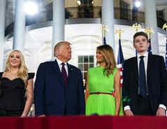 Donald Trump,Donald Trump Jr.,Melania Trump,Barron Trump,Tiffany Trump