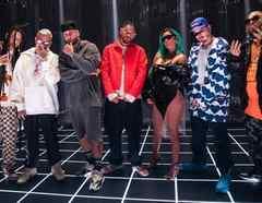 New J Balvin, Karol G, Nicky Jam, Crissin, Totoy El Frío, Natan & Shander