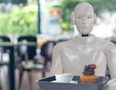 Robots meseros