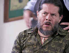 Jorge Zárate, El Indio Amaro, furioso, Señora Acero 2