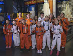 Roadtrip de los finalistas de La Voz Kids al Kennedy Space Center