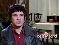 Alex de la Madrid en José José