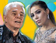 Enrique Guzmán y Frida Sofía