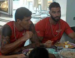 Lozada y Maza comen en la Fortaleza