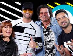 Carlos Vives, Alejandro Guzmán, Wisin y Luis Fonsi