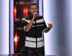 Isai Reyes en las audiciones a ciegas de La Voz US 2