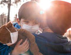 Niños y coronavirus