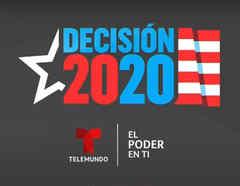 Campaña 'Decisión 2020' de Telemundo y NBC Universal para informar a la comunidad latina en EE.UU.