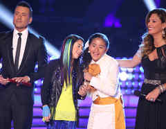 Team Rubio en la final de La Voz Kids