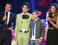 Team Tapia en la final de La Voz Kids
