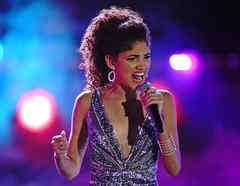 Rubi Monge en la semifinal de La Voz US 2