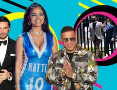 Julián Gil, Natti Natasha, Daddy Yankee y Raphy Pina