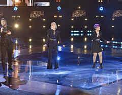 Sammy, Sugeily, Andrea y Jose en la final de La Voz US 2